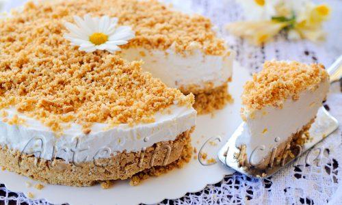 Cheesecake paradiso sbriciolata torta fredda