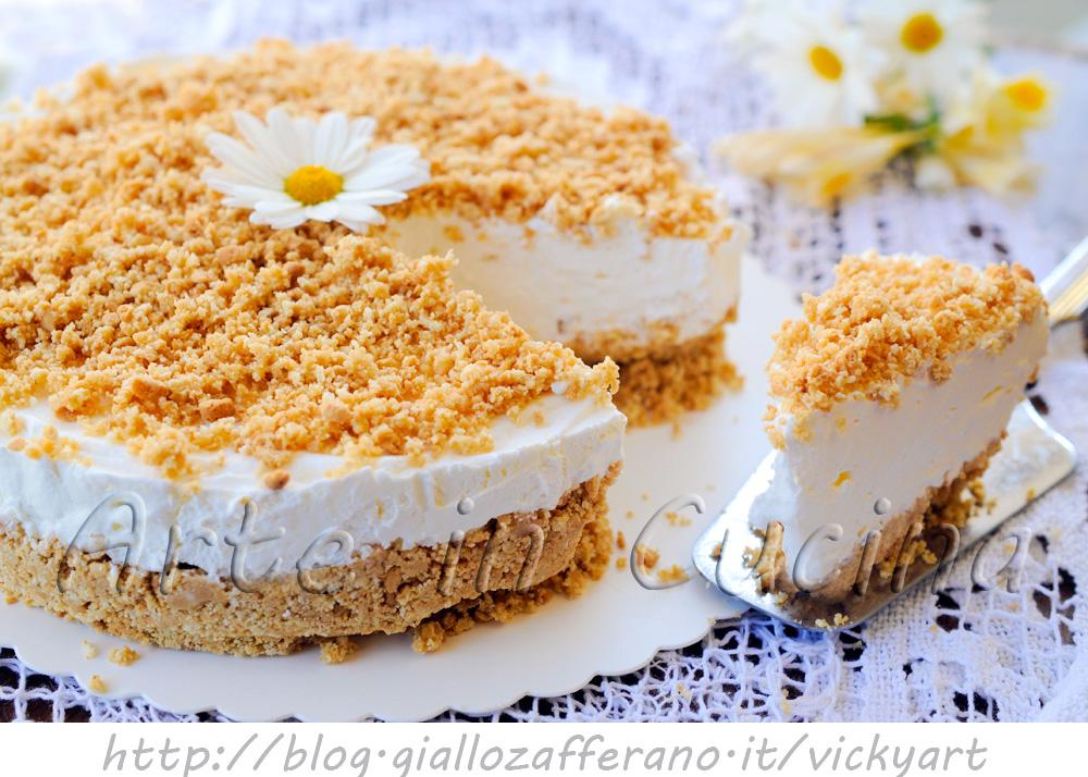 Top Cheesecake paradiso sbriciolata torta fredda | Arte in Cucina BZ63