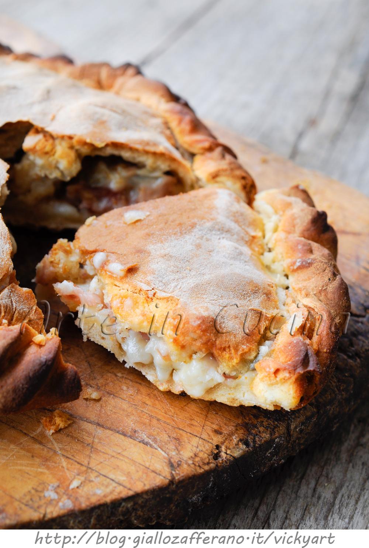 Focaccia con gorgonzola e noci veloce anche bimby vickyart arte in cucina