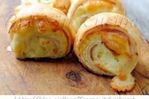 Girelle con patate philadelphia e prosciutto