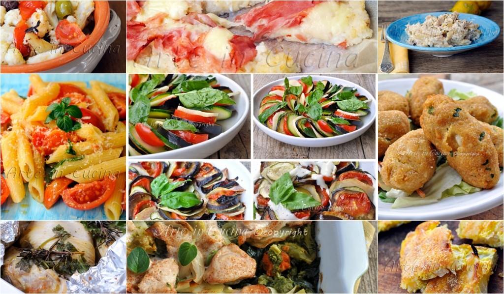 Menu light per pranzo o cena ricette facili arte in cucina for Ricette cucina facili