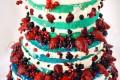 Torta con fragole e camy cream Naked cake
