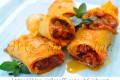 Paccheri gratinati ripieni con salsiccia e carciofi