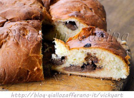 Pagnotta pasquale romagnola al cioccolato ricetta