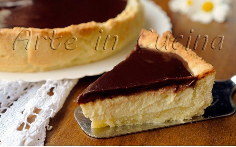 Torta Susanna di Parma frolla ricotta e cioccolato