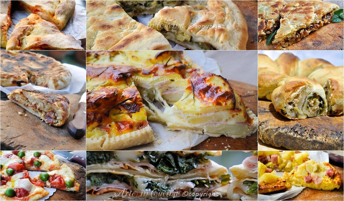 Torte rustiche e focacce salate raccolta ricette vickyart arte in cucina