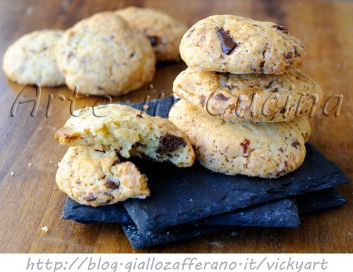 Biscottini al doppio cioccolato facili e veloci