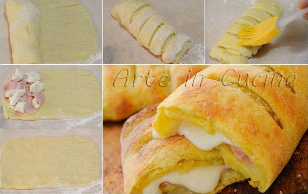 Flauti salati di patate ripieni di provola e prosciutto vickyart arte in cucina