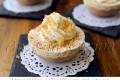 Mini cheesecake sbriciolate alla nutella