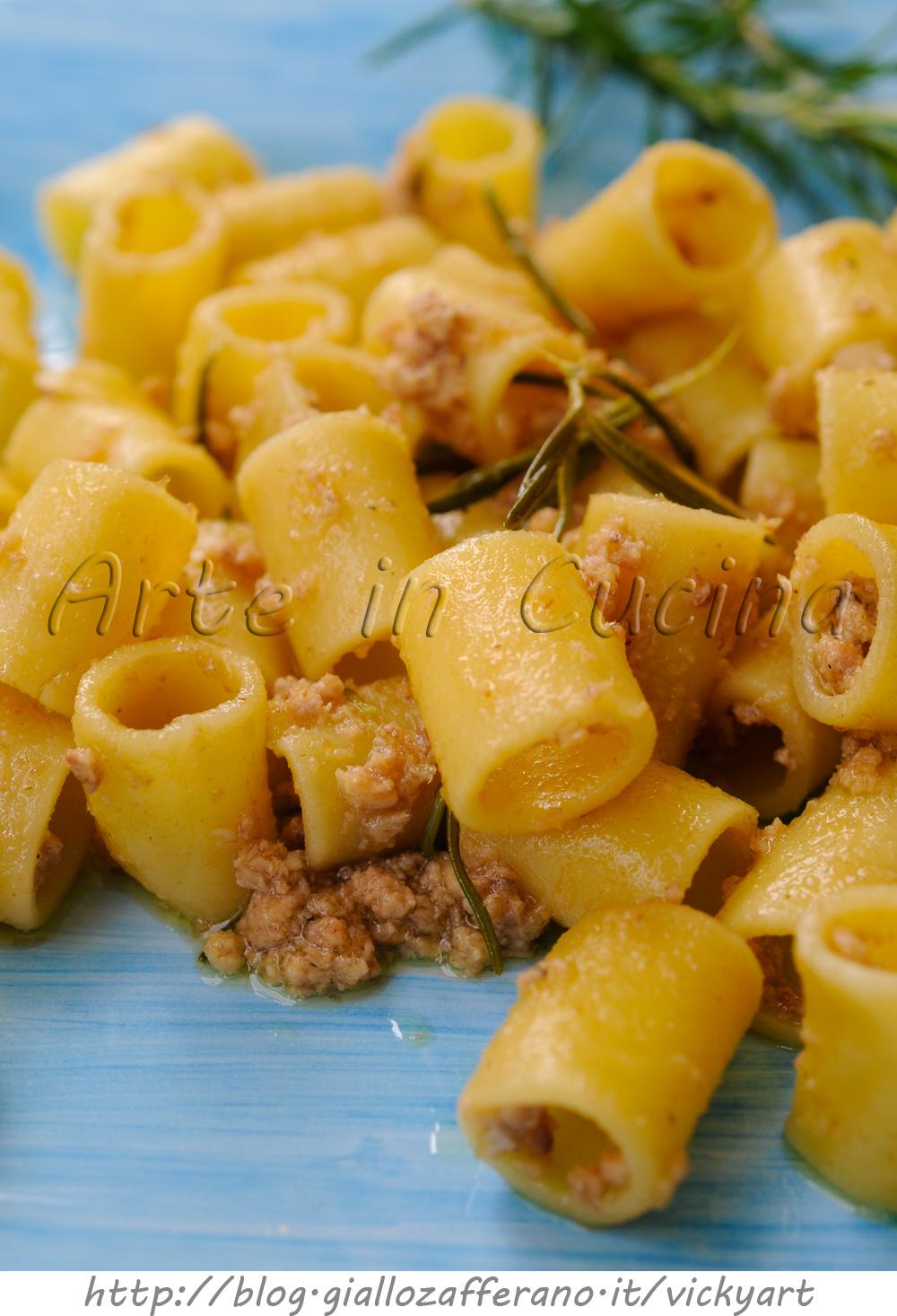Pasta con tonno e rosmarino piatto veloce vickyart arte in cucina