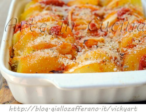 Patate raganate ricetta facile
