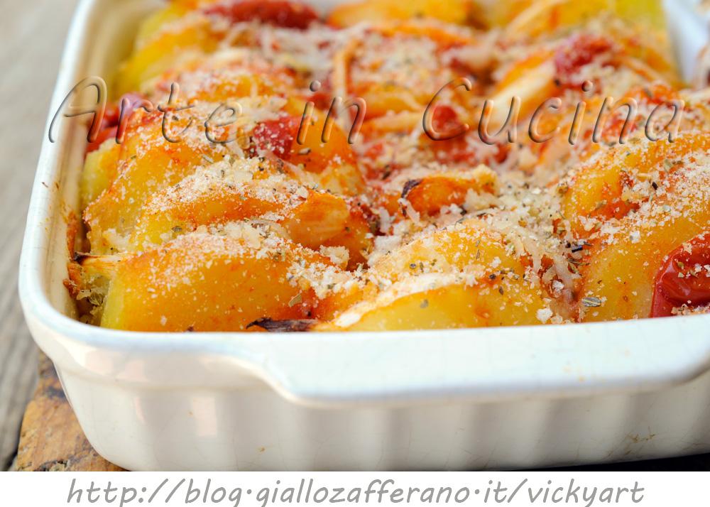 Patate raganate ricetta facile vicyart arte in cucina