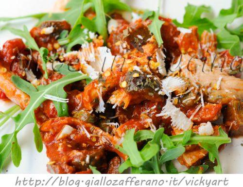Pollo all'arrabbiata ricetta facile e veloce