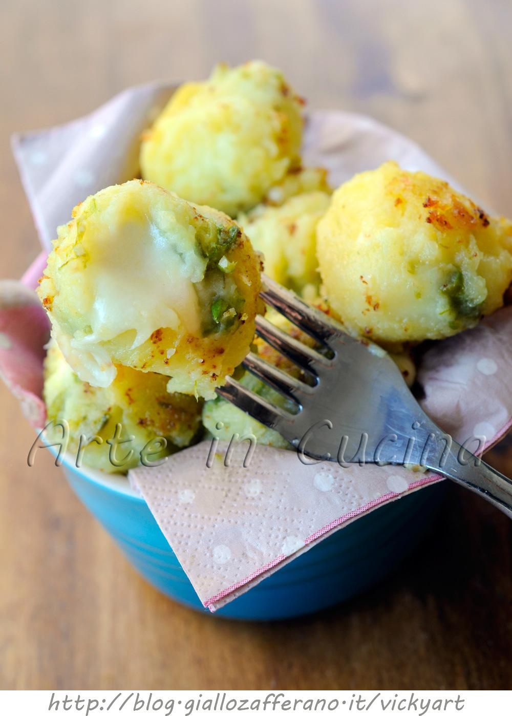 Polpette di patate e asparagi senza uova vickyart arte in cucina