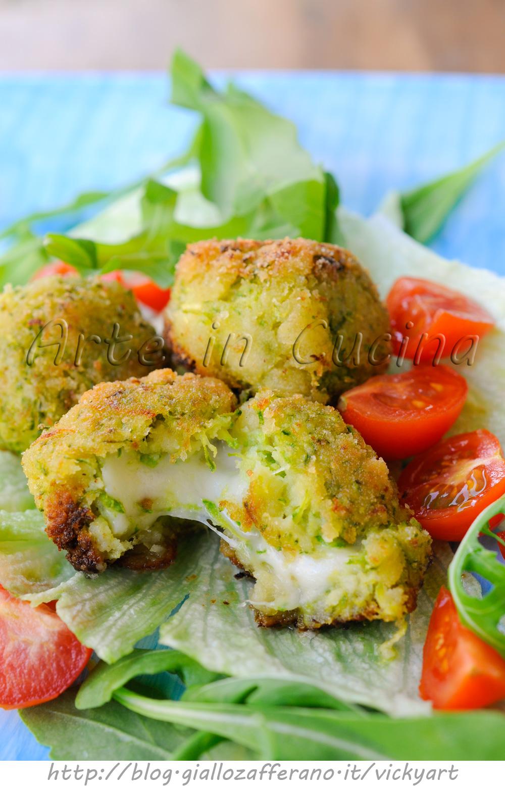 Polpette di zucchine e pancarre senza uova vickyart arte in cucina