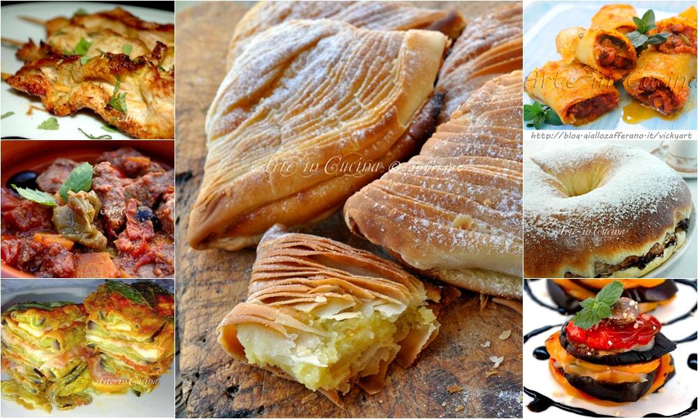 Ricette dall'antipasto al dolce per festeggiare vickyart arte in cucina