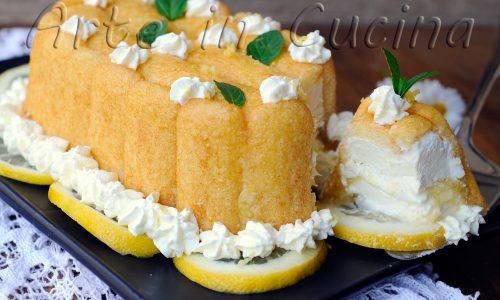 Semifreddo al limone con pavesini dolce veloce