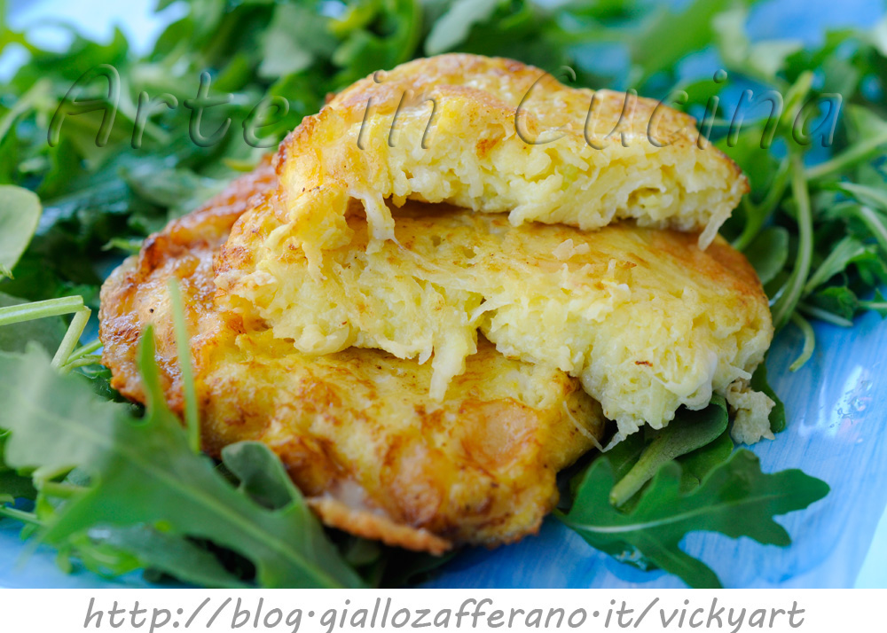 Frittelle di zucchine grattugiate e scamorza veloci vickyart arte in cucina