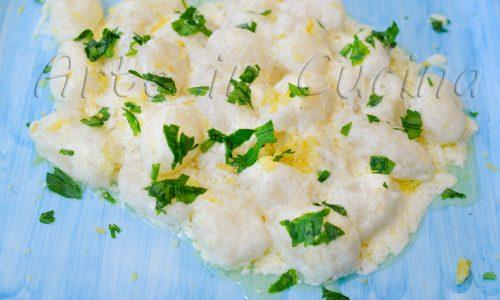 Gnocchi al limone e panna ricetta facile e veloce