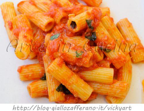 Maccheroni alla napoletana ricetta veloce