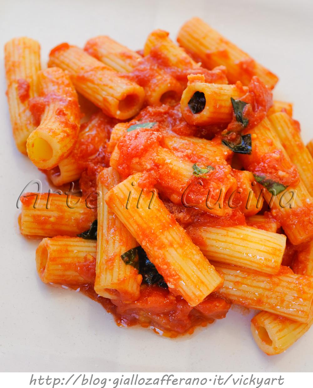 Maccheroni alla napoletana ricetta veloce vickyart arte in cucina