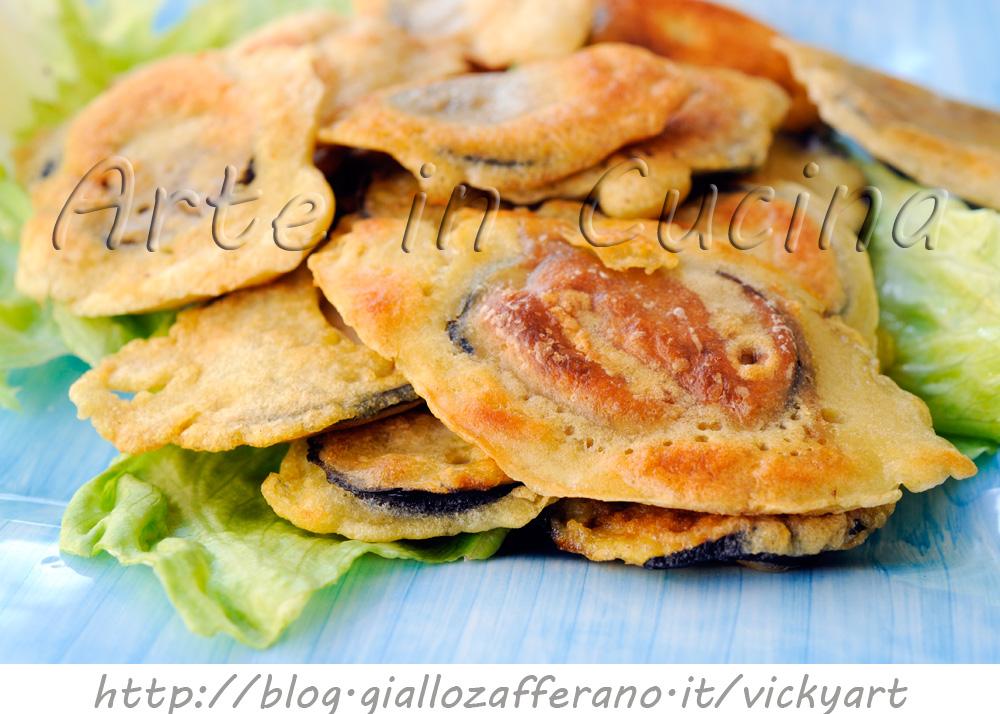 Melanzane in pastella ricetta facile arte in cucina for Cucina facile ricette