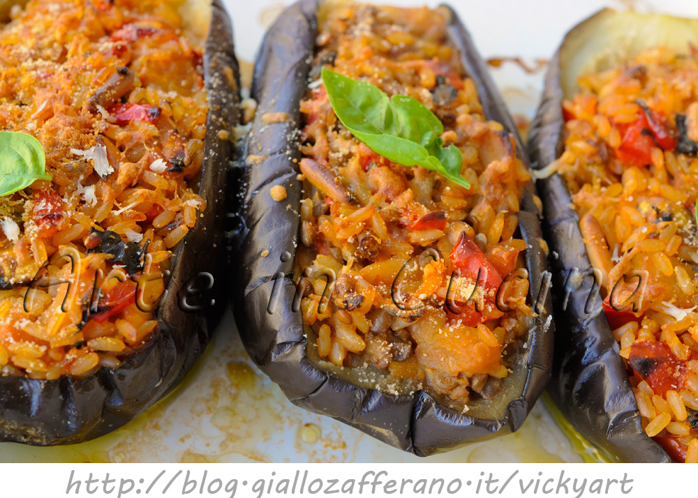 melanzane ripiene stufate ricetta light facile