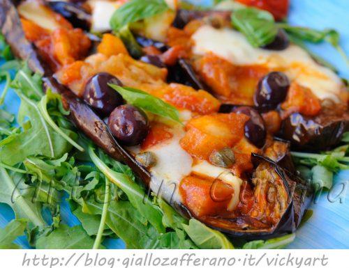 Melanzane a scarpone ricetta napoletana