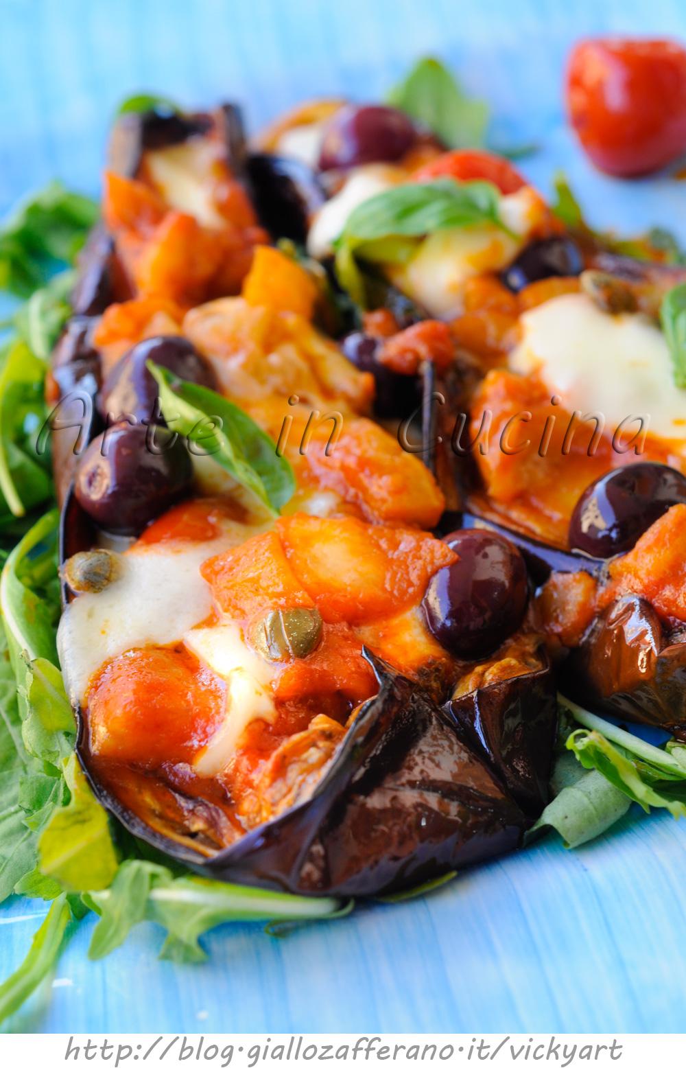 Melanzane a scarpone ricetta napoletana vickyart arte in cucina