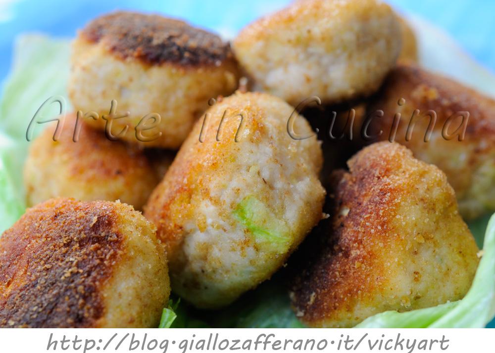 Popolare Polpette di pollo e zucchine ricetta veloce | Arte in Cucina SQ33