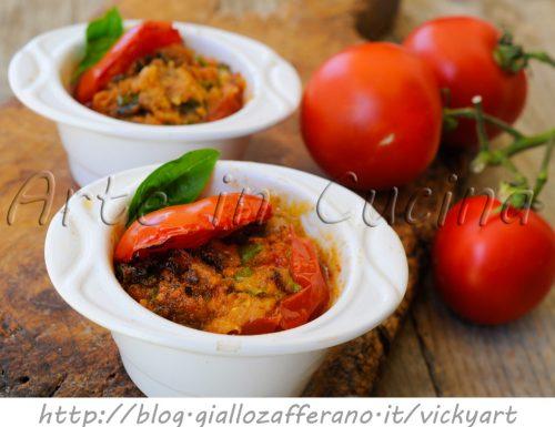 Pomodori sfiziosi ripieni alla palermitana