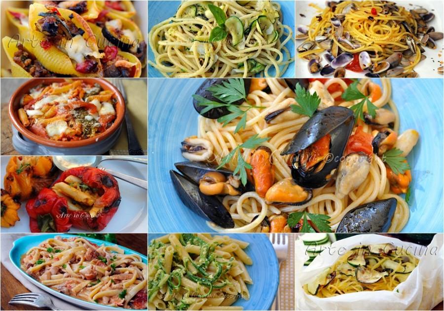Primi piatti estivi facili veloci 1 arte in cucina for Ricette primi piatti veloci bimby