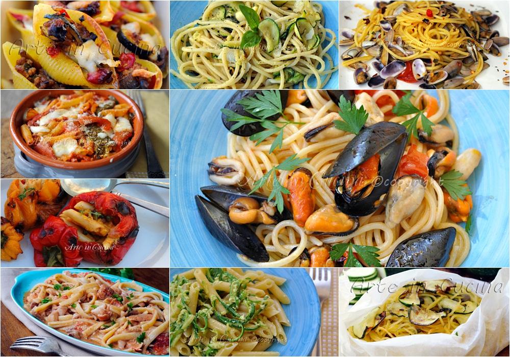 Primi piatti estivi facili e veloci arte in cucina for Ricette primi piatti veloci bimby
