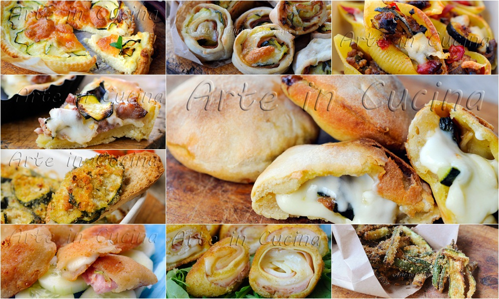Ricette con zucchine facili arte in cucina for Ricette facili cucina