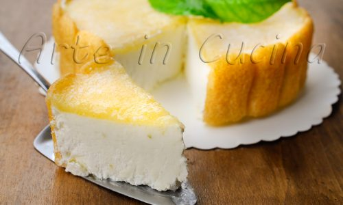 Torta fredda al limoncello con pavesini