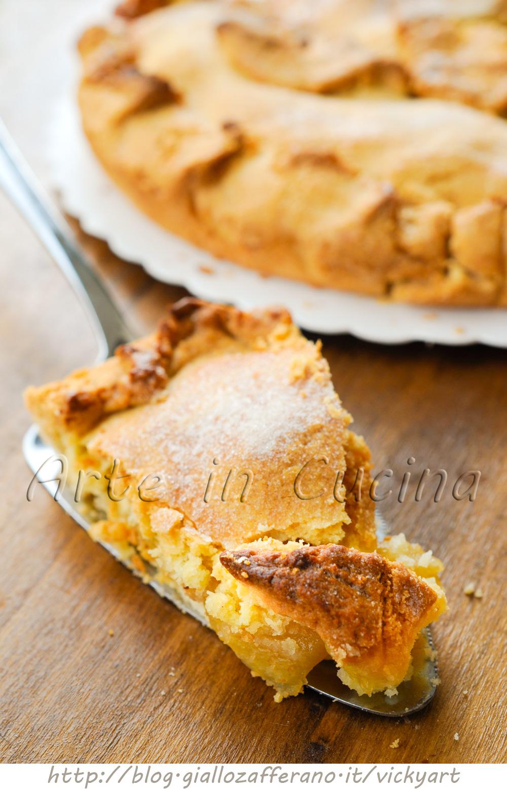 Torta di mele inglese ricetta facile | Arte in Cucina