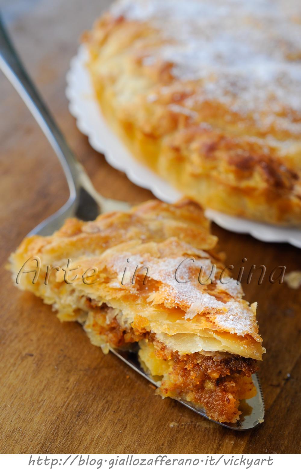 torta-mele-veloci-sfoglia-amaretti-2