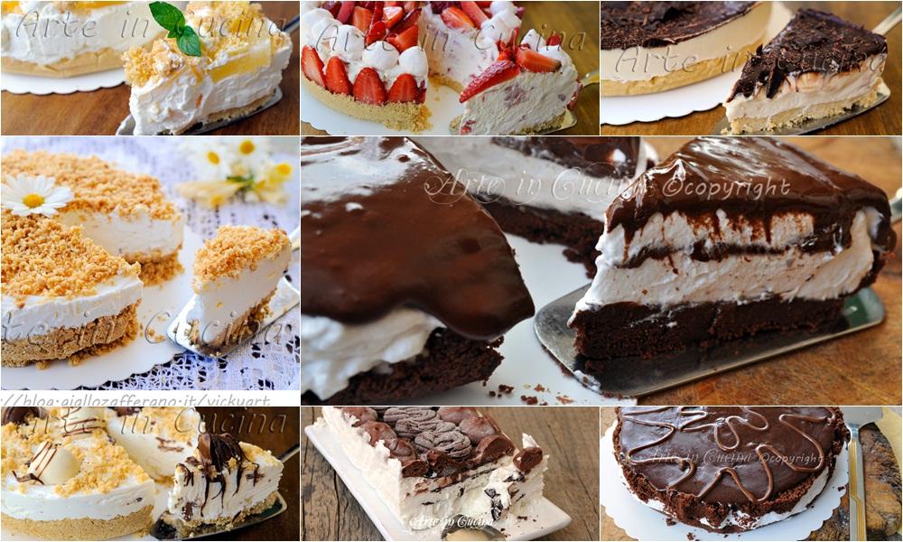 Torte fredde senza forno ricette facili arte in cucina for Ricette dolci facili e veloci