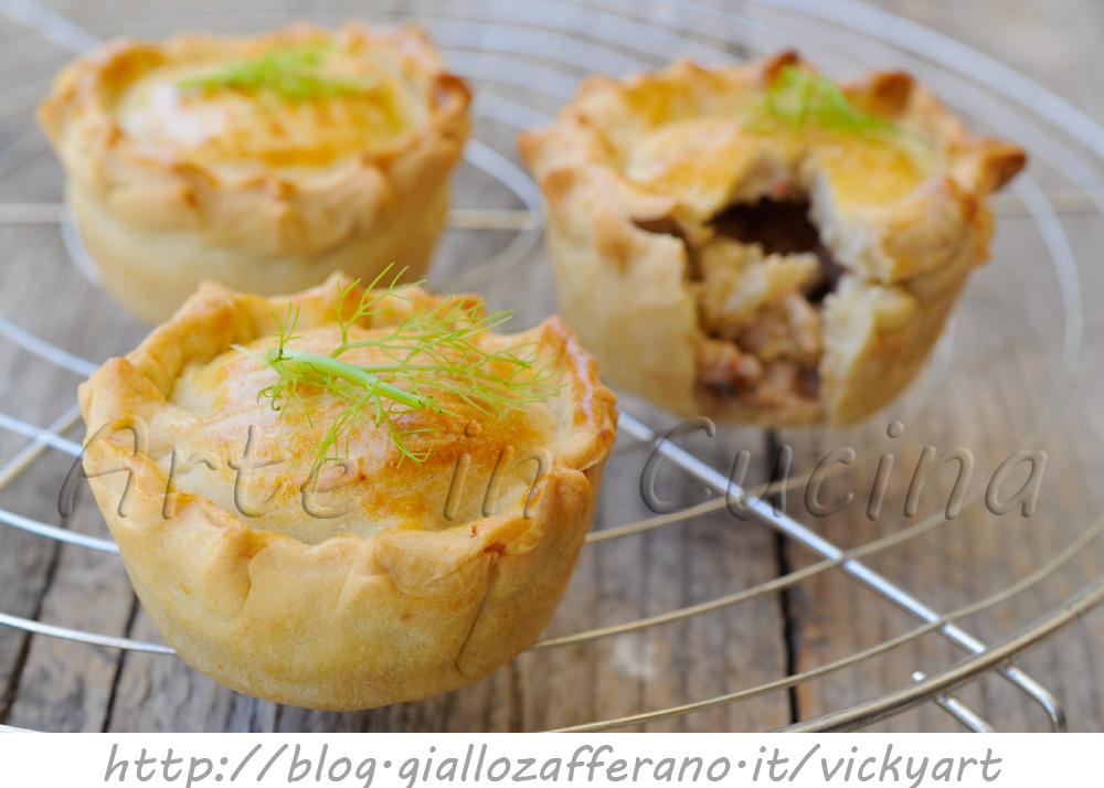 Tortini di finocchio e frutti di mare finger food veloci vickyart arte in cucina