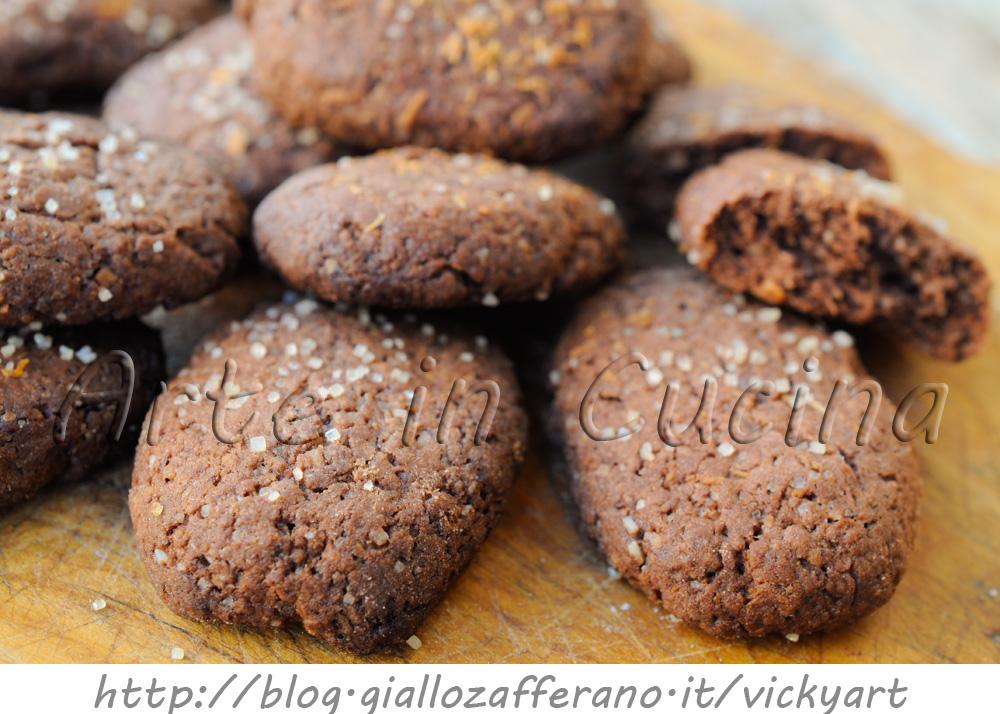 Estremamente Biscotti al cacao e cocco con zucchero di canna ricetta facile  YU15