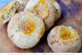 Biscotti cocco e marmellata con nocciole ricetta veloce