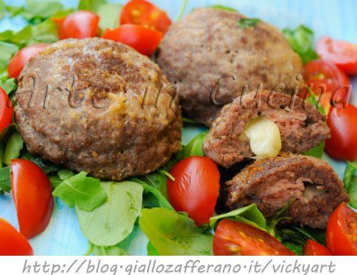 Bombe di carne ripiene ricetta sfiziosa veloce