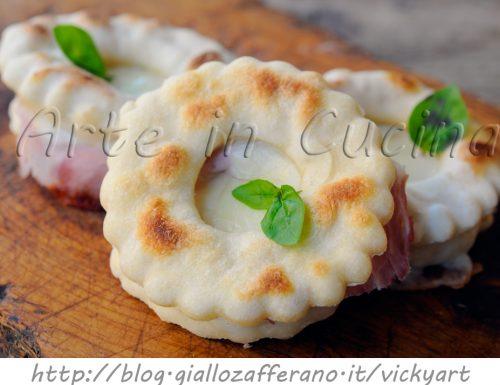 Ciambelle salate veloci farcite finger food congelabili