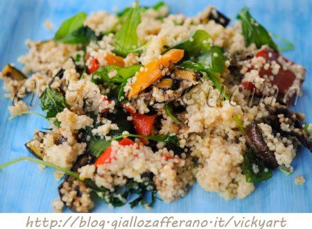 Cous cous con verdure grigliate ricetta facile