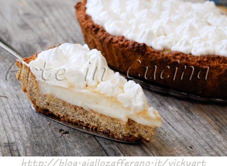 Crostata con crema al latte ricetta dolce