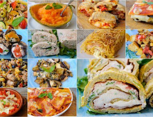 Menu per ferragosto pranzo ricette facili estive