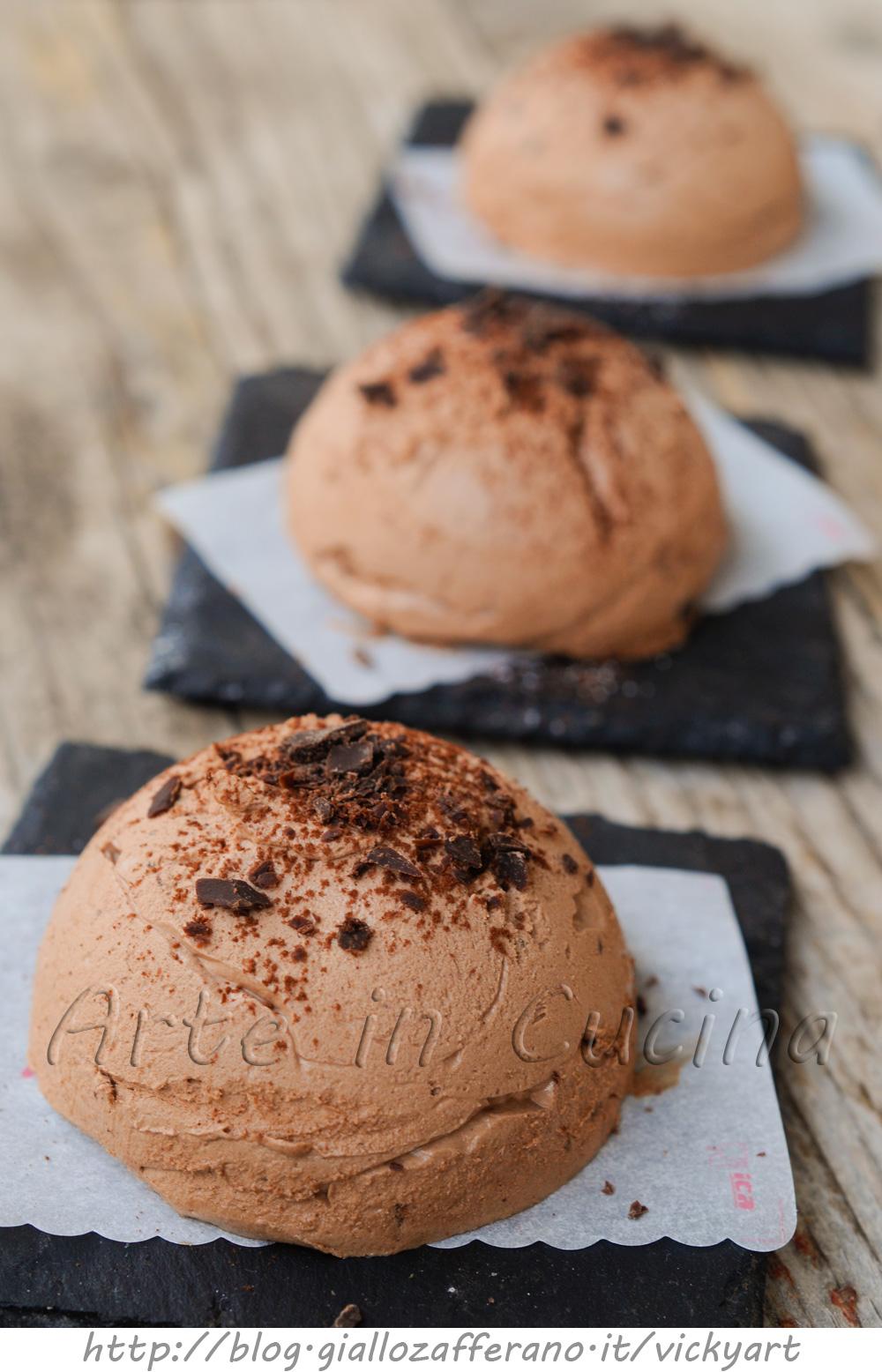 Mousse golosa al cioccolato fondente ricetta facile vickyart arte in cucina