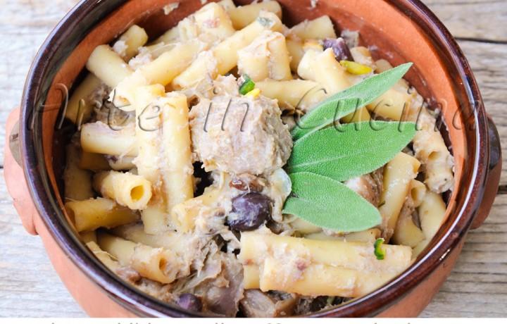 Pasta con carciofi e pistacchi ricetta primo facile
