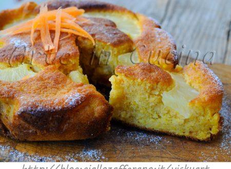 Torta di ananas e carote ricetta dolce facile e veloce