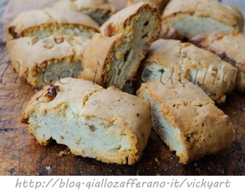 Biscotti con noci alla ricotta ricetta facile
